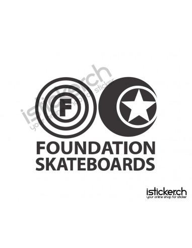 Mode Brands Foundation Skateboards Logo