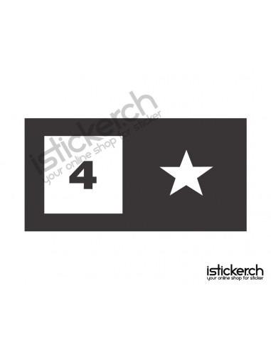 Fourstar Skateboards Logo