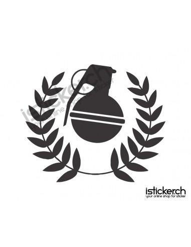 Mode Brands Grenade Gloves Logo 2