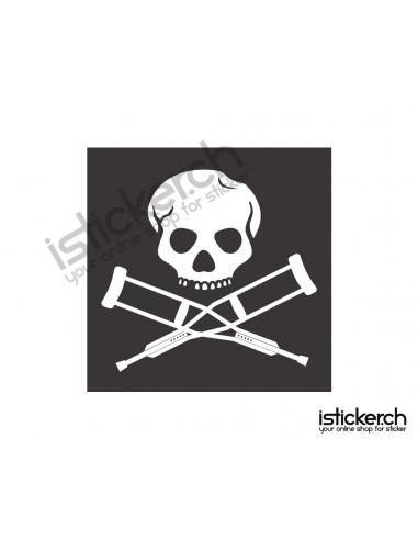 Mode Brands Jackass Logo 1