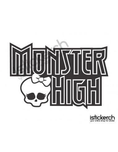 Mode Brands Monster High Logo 2