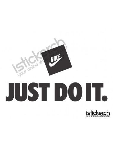 Mode Brands Nike Just Do It Logo