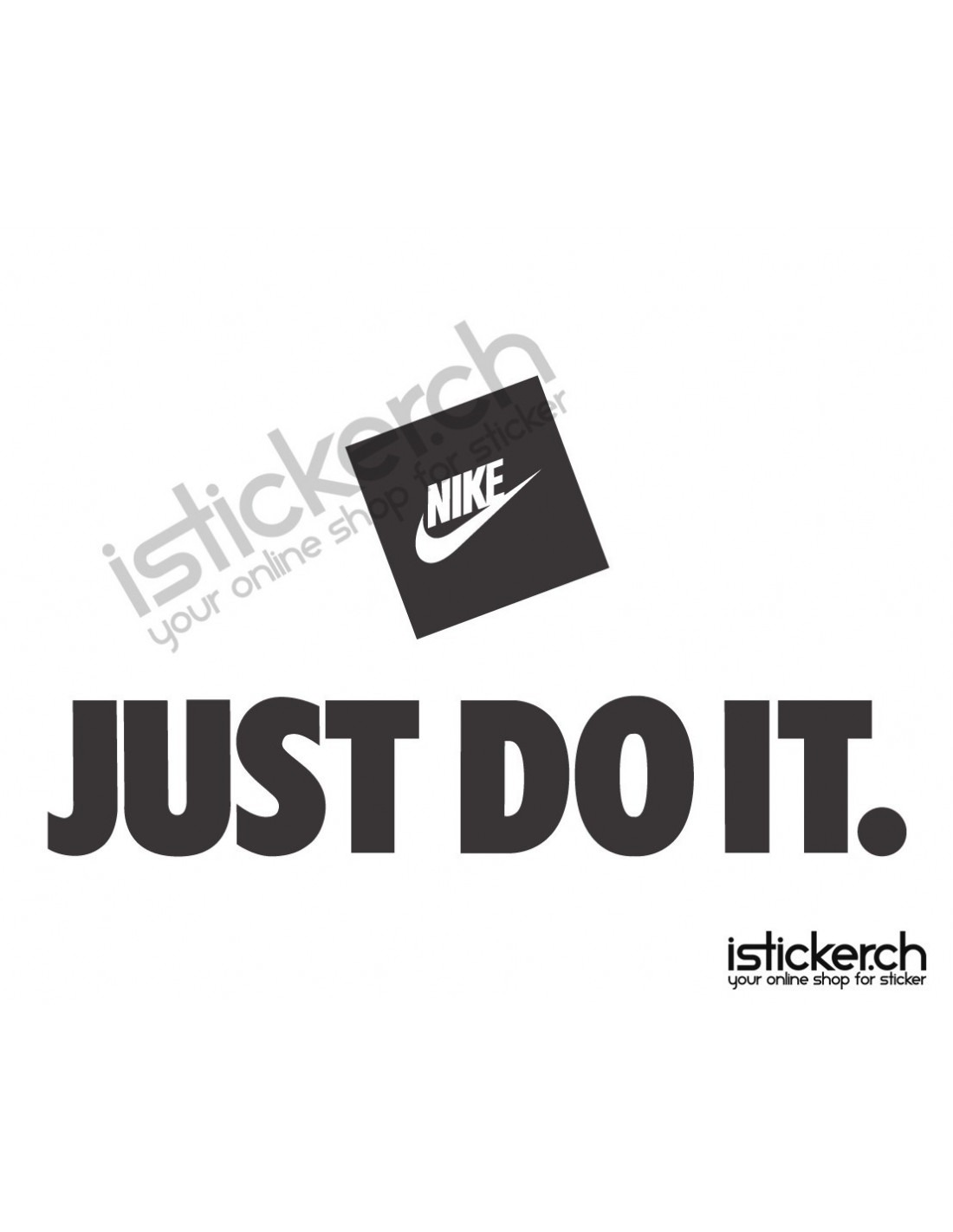 Nike Just Do It Logo Istickerch