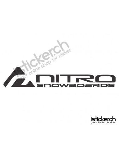 Mode Brands Nitro Snowboards Logo 2
