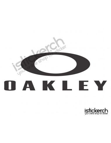oakley aufkleber