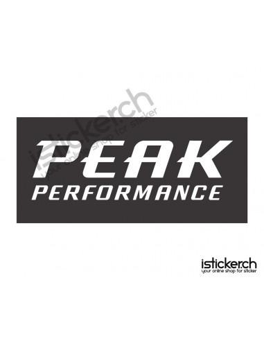 Mode Brands Peak Performance Logo