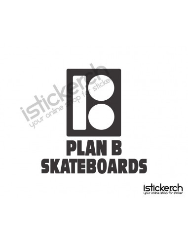 Plan B Skateboards Logo 1
