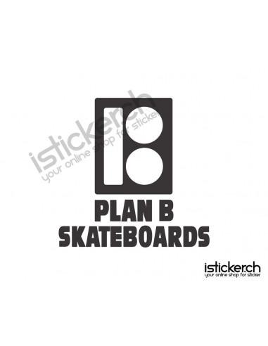 Mode Brands Plan B Skateboards Logo 1