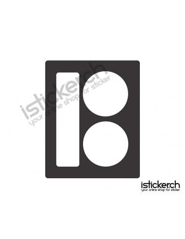 Plan B Skateboards Logo 2