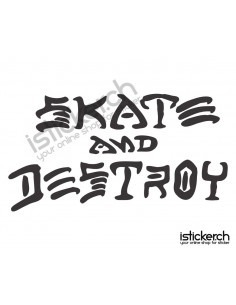 Skate and Destroy Logo