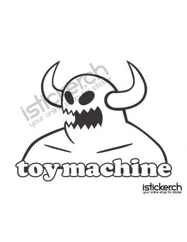 Mode Brands Toy Machine Logo 2