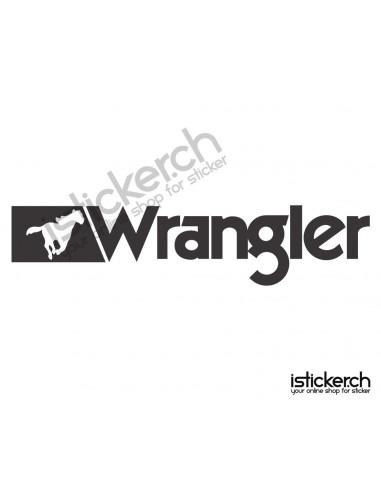 Mode Brands Wrangler Jeans Logo