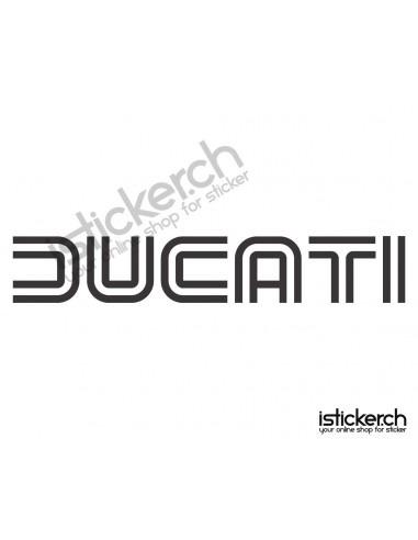 Motorrad Marken Ducati Logo 3