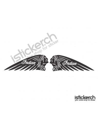 Motorrad Marken Indian Motorcycle Logo 2