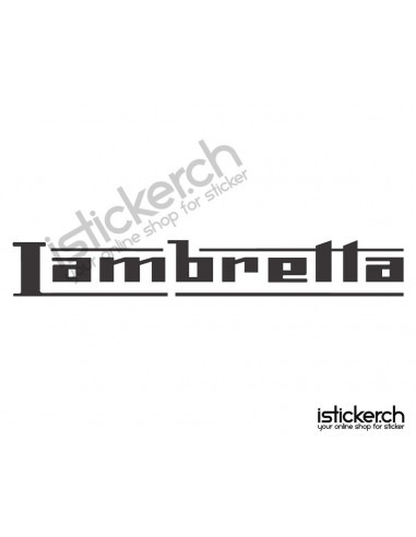 Motorrad Marken Lambretta Logo 1