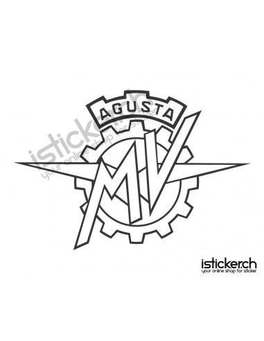Motorrad Marken MV Agusta Logo 1