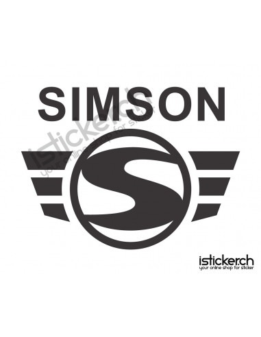 Motorrad Marken Simson Logo