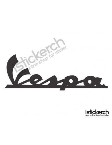Motorrad Marken Vespa Logo 1