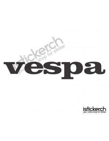 Motorrad Marken Vespa Logo 3
