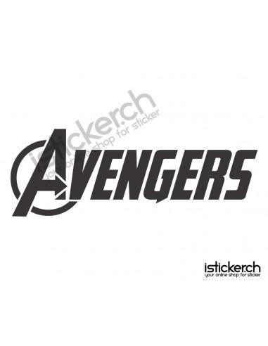 Superhelden Logos The Avengers Logo 1