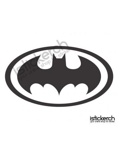 Superhelden Logos Batman Logo 2