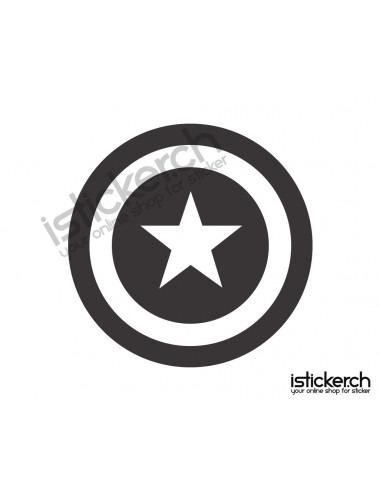 Superhelden Logos Captian America Logo