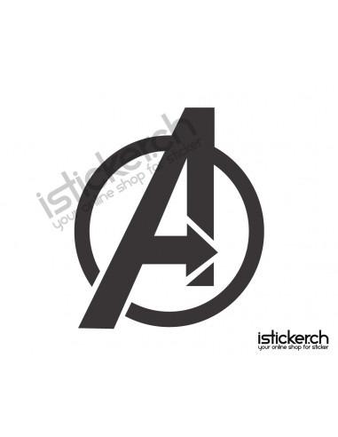 Superhelden Logos The Avengers Logo 2