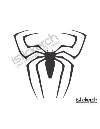 Superhelden Logos Spiderman Logo 1