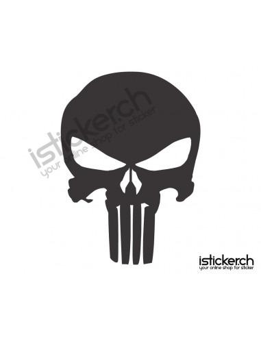 Superhelden Logos Punisher Logo