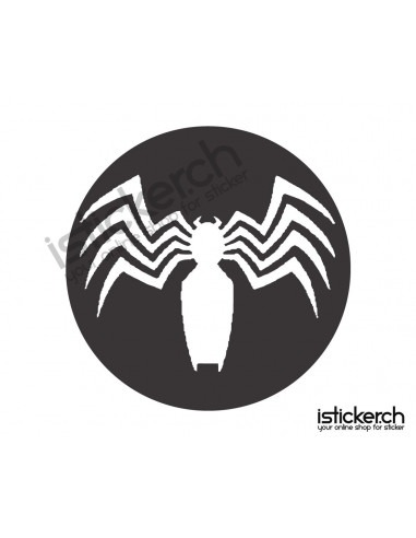 Superhelden Logos Venom Logo