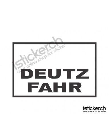 Traktoren Marken Deutz Fahr Logo