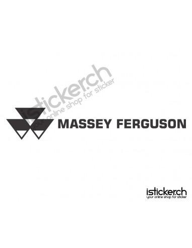 Traktoren Marken Massey Ferguson Logo 1