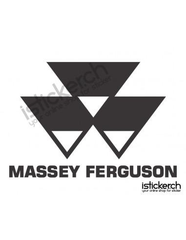 Traktoren Marken Massey Ferguson Logo 2