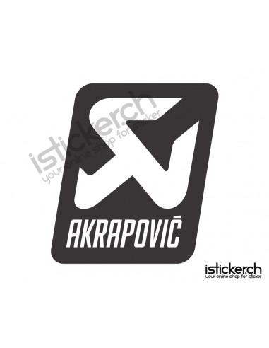Tuning Marken Akrapovic Logo 1