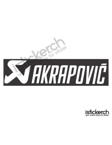 Tuning Marken Akrapovic Logo 3