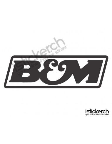 Tuning Marken B & M Logo