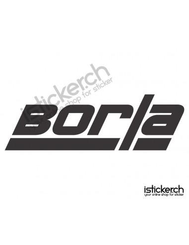 Tuning Marken Borla Logo