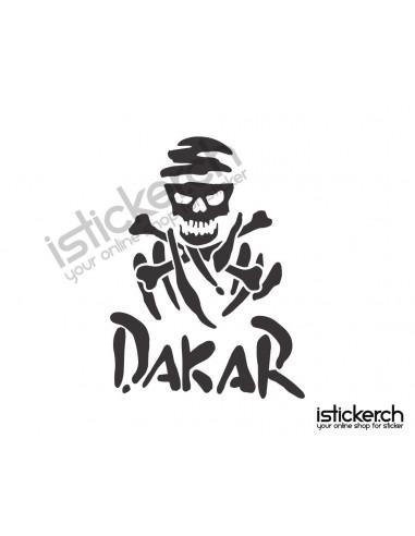 Tuning Marken Dakar Skull Logo