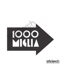 1000 Miglia Logo