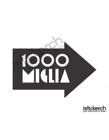 Tuning Marken 1000 Miglia Logo