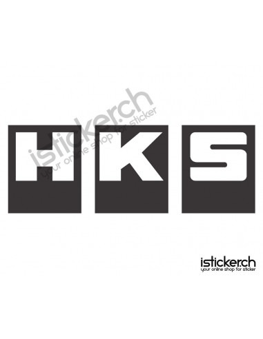 Tuning Marken HKS Logo 1