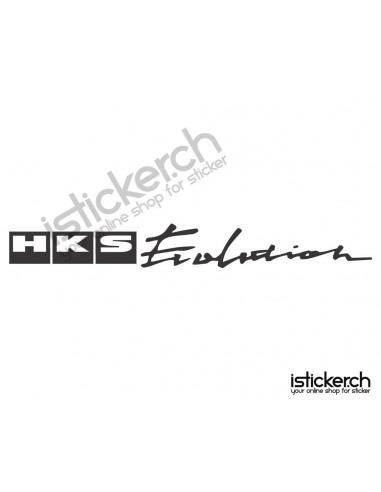 Tuning Marken HKS Logo 2