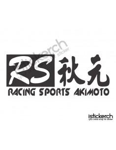 Racing Sports Akimoto Logo
