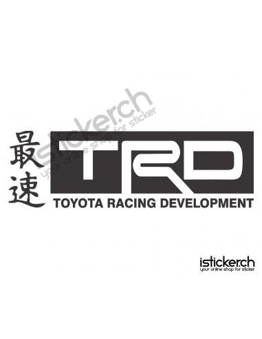 Tuning Marken Toyota TRD Logo 2