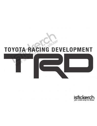 Tuning Marken Toyota TRD Logo 4