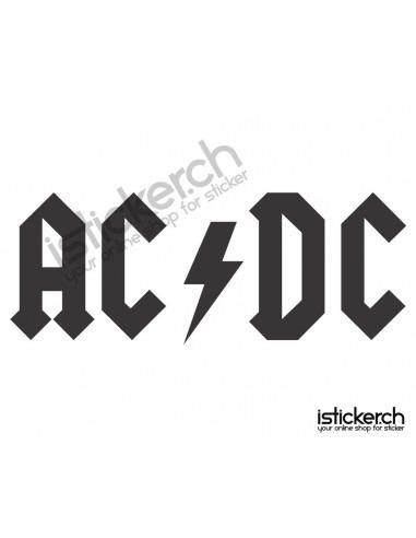 Band Logos AC DC Logo
