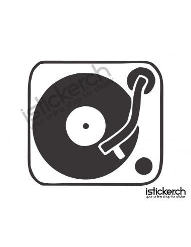 Musik DJ Turntable 1