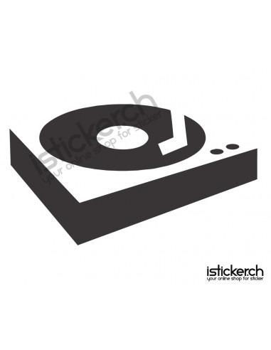 Musik DJ Turntable 2