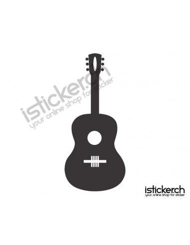 Musik Instrumente Gitarre 6