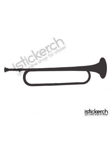 Musik Instrumente Signalhorn